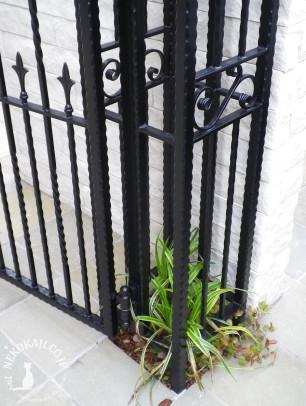 ヨーロピアン志向の 門柱